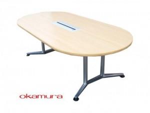 配線付きミーティングテーブル